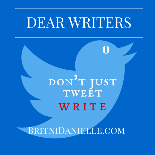 Dear Writers