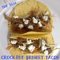 Crock-Pot Brisket Tacos :: The Best, Hands Down!