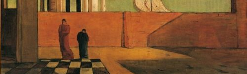 The Enigma of Arrival and the Afternoon by Giorgio de Chirico