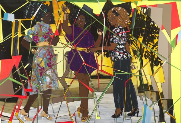 Three Graces- Les Trois Femmes Noires, 2011