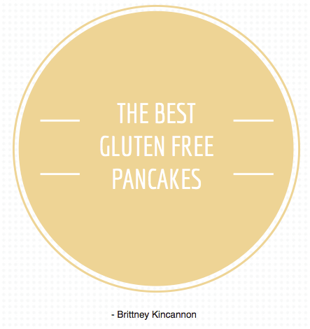 The Best Gluten Free Pancakes