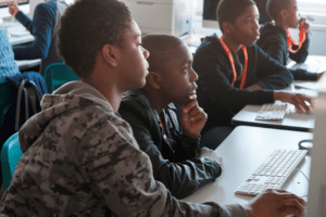 African American Computer Students