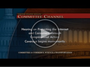 Testimony before the Senate
