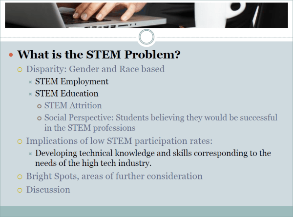 Slide 2 - What is the STEM Problem