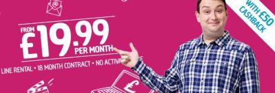Plusnet deals now with £50 cashback | BroadbandDeals.co.uk