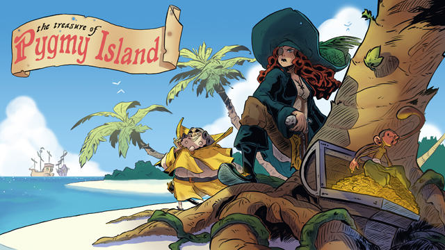The Treasure of Pygmy Island