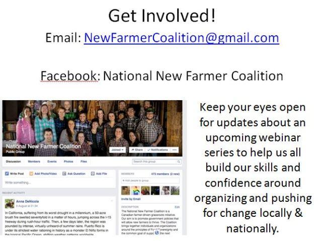 National New Farmer Coalition