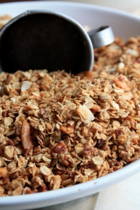 cinnamon pecan granola