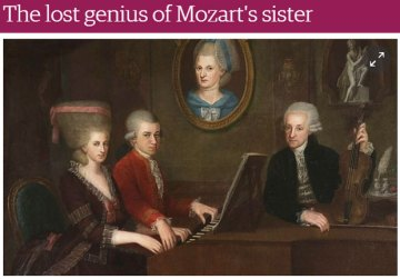 The Guardian explores the life of Mozart's sister.