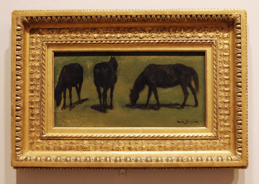 Rosa Bonheur, Untitled, n.d.; Gift of Roma Crocker in honor of her children. Conservation funds generously provided by the Mississippi State Committee of the National Museum of Women in the Arts