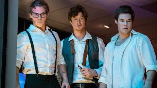 Blake Anderson, Anders Holm and Adam Devine in the Netflix Film GAME OVER MAN!