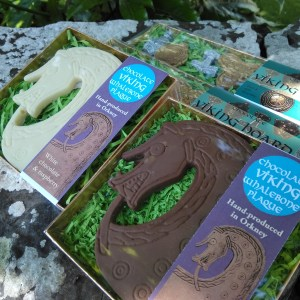 Web of Fate: VIking chocolate from Orkney. Chocolate replicas of archaeological finds from Orkney and Scandinavia.