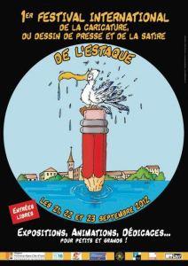 affiche festival de la caricature 2012 estaque