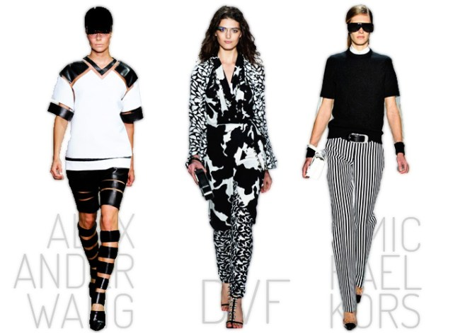 Black & White - Spring/Summer 2013 Trends