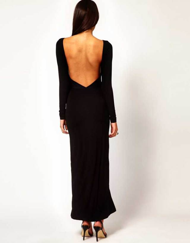 ASOS Maxi Dress with High Slit