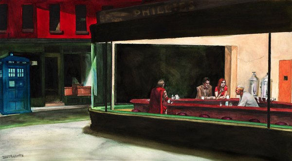 Night Docs Poster Doctor Who-Nighthawks