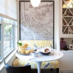 Design Breakdown: Graphic Breakfast Nook (Small Space)