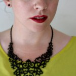Choies Black Baroque Necklace