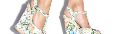 Monday Wedgie: The Tall & Floral Rosalee