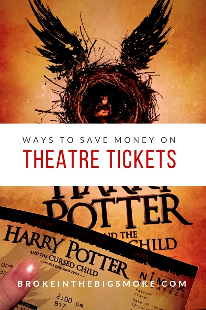 How to Save Money on Theatre Tickets
