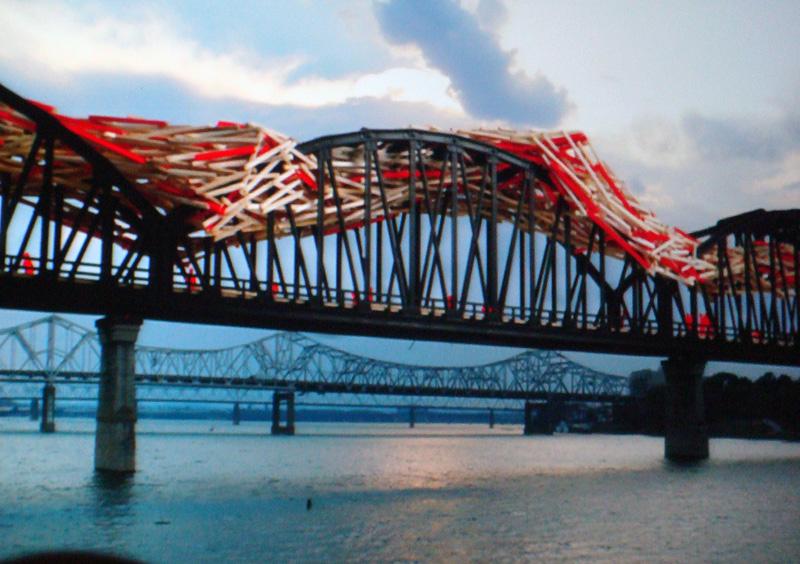 Big Four Bridge Proposal (Rendering by Studio Arne Quinze)