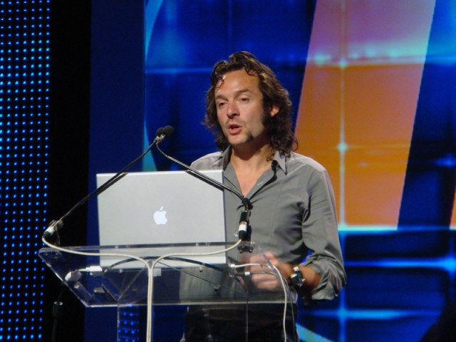 Arne Quinze Speaks at IdeaFestival. (Branden Klayko / Broken Sidewalk)