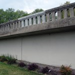 Concrete railings on Eastern Pakway Bridge to be replaced.