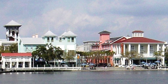Celebration, Florida (Image via Wikimedia Commons)