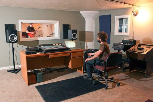 Inside the music studio (Courtesy Ice Box Co Labs)
