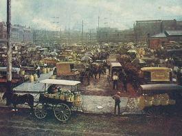 The Haymarket in 1910 (BS File Postcard)