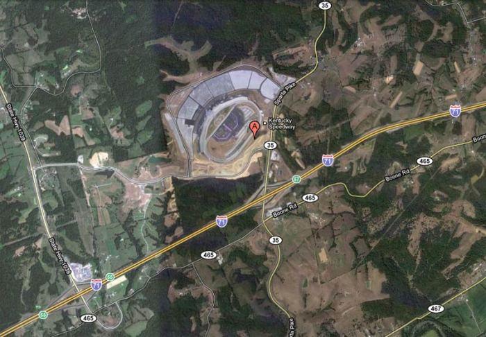 Kentucky Speedway (Courtesy Google Maps)