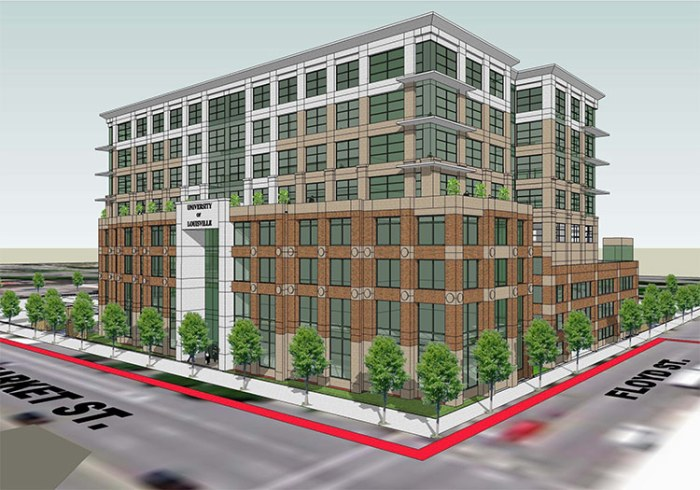 Rendering of the new building. (Courtesy AJRC)