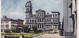 Louisville Civic Center. (Courtesy Forbes Archives)