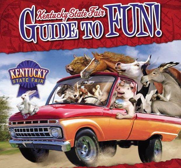 Kentucky State Fair Guide to Fun. (Courtesy Kentucky State Fair)