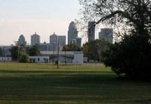 The waterfront in Clarksville is ripe for development. (Aaron Renn)
