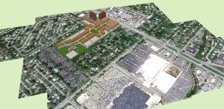 Proposal for the Showcase Cinemas site on Bardstown Road. (Courtesy Urban Composition)