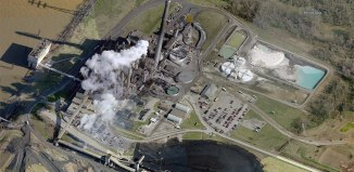 LG&E's Mill Creek Generating Station in Southwest Jefferson County. (Courtesy Bing)