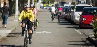 Alki Avenue, Seattle. (Courtesy People for Bikes)