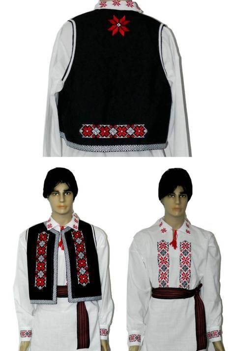 vesta traditionala ii populare barbati