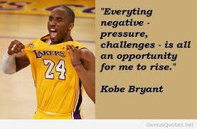 Negative - Pressure - Kobe Bryant