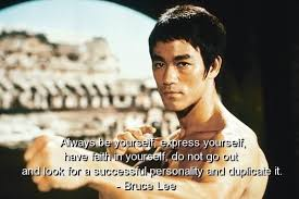 bruce lee be yourself