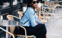 Influencer Germany, Modeblog Berlin, Fashionblogger Berlin, Culottes kombinieren, schwarze Culottes kombinieren