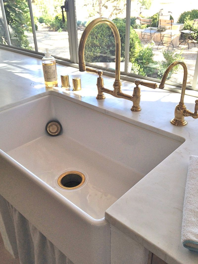 cat 7 rohl kitchen faucets Hackberry Hill