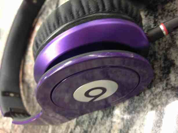 beats by dre purple headphones