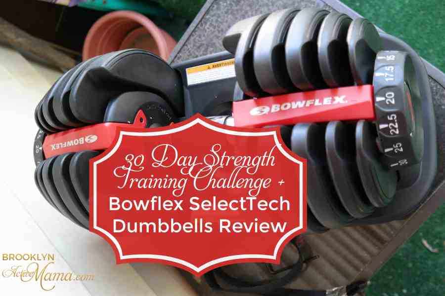 30 Day Summer Strong Strength Training Challenge! + SelectTech 552 Dumbbells Review