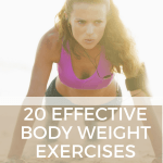 20 Effective Body Weight Exercises – No Equipment Required