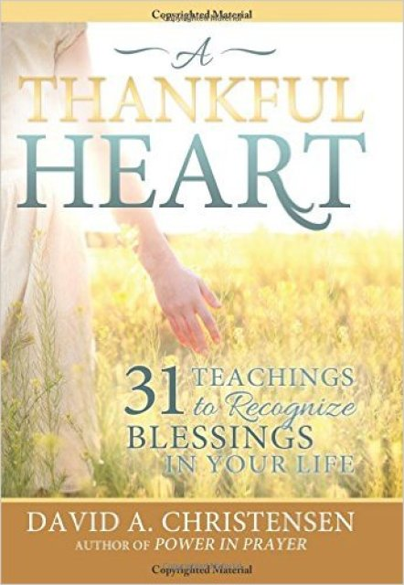 A Thankful Heart is a wonderful month long devotional to help develop a heart more full of gratitude to become closer to Heavenly Father.