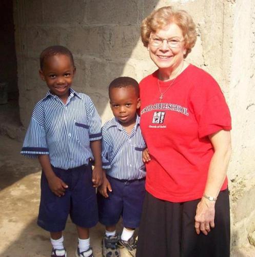 Ruth Orr in Africa
