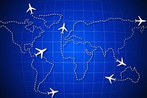world-map-airplanes