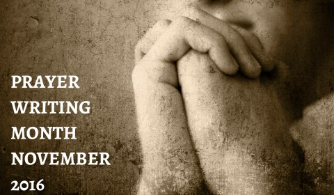 GoSpeak Ministry: Prayer Writing Month